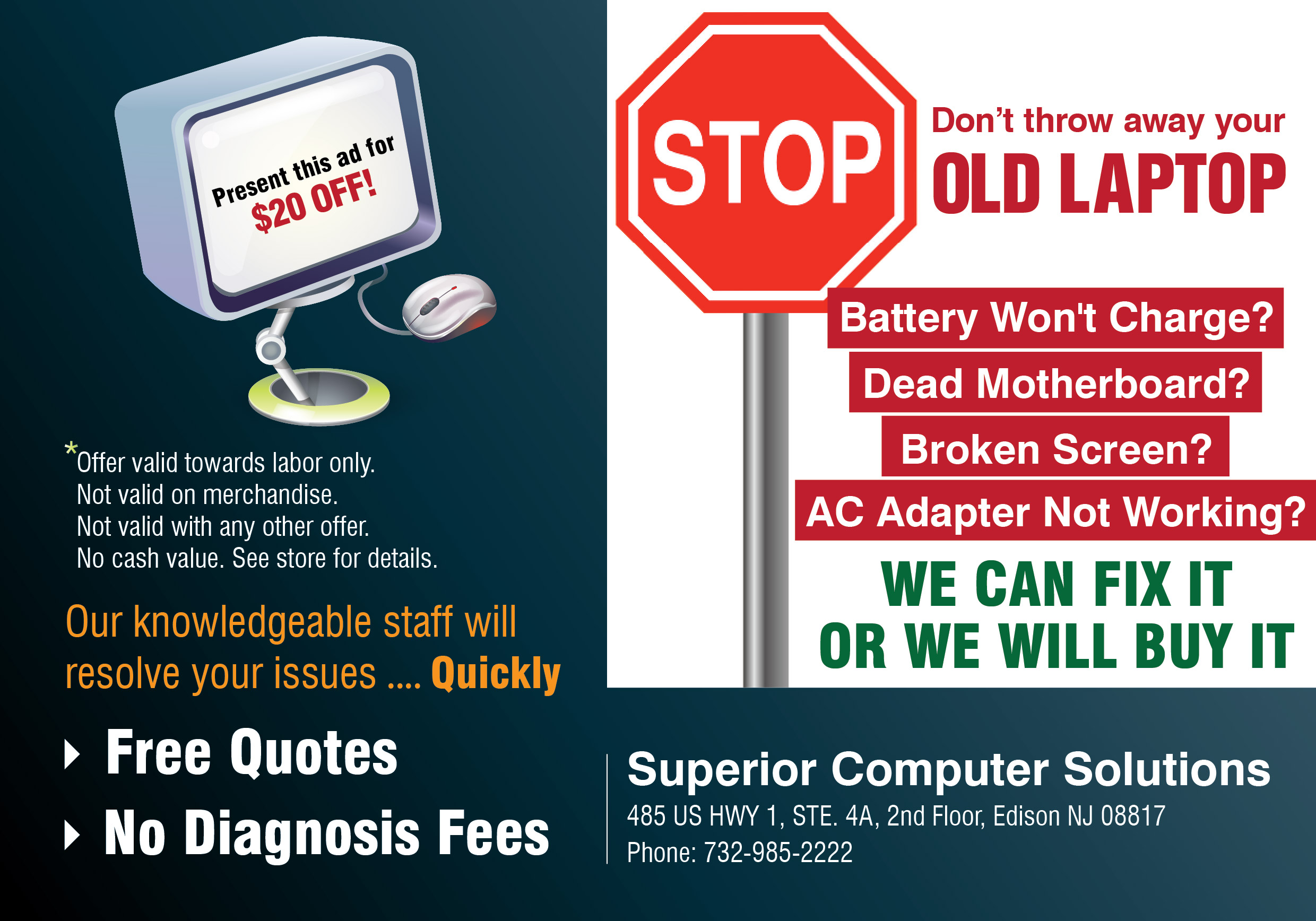 Services Discount Offer